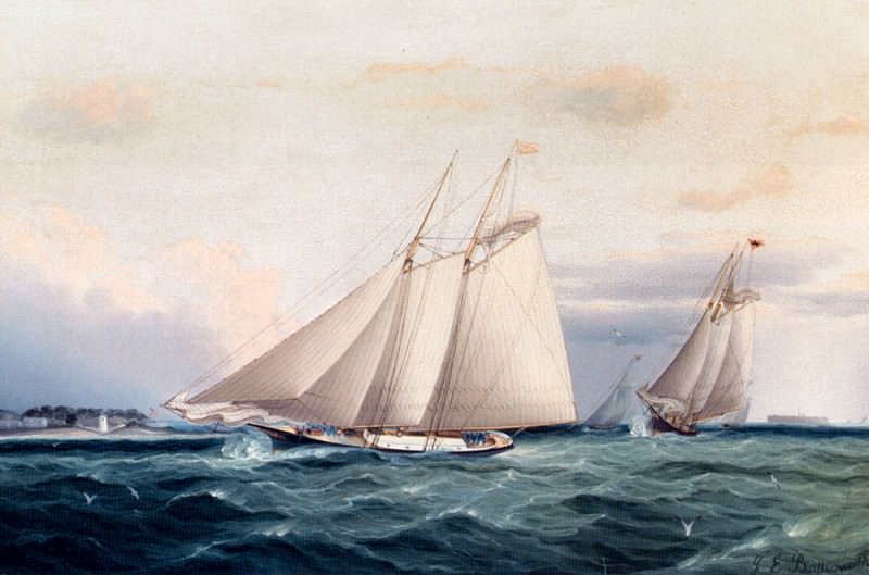 Buttersworth James E Around The Point. American artists