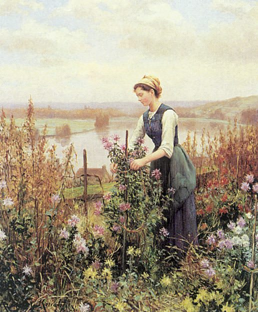Найт, Дэниел Риджуэй (американец, 1839-1924). Американские художники