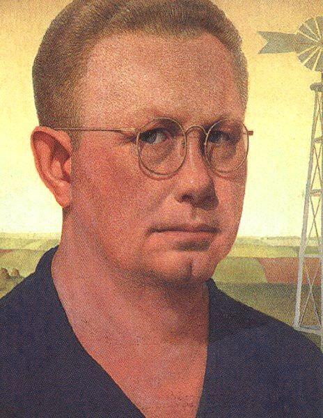 Wood, Grant (American, 1891-1942) 3. American artists