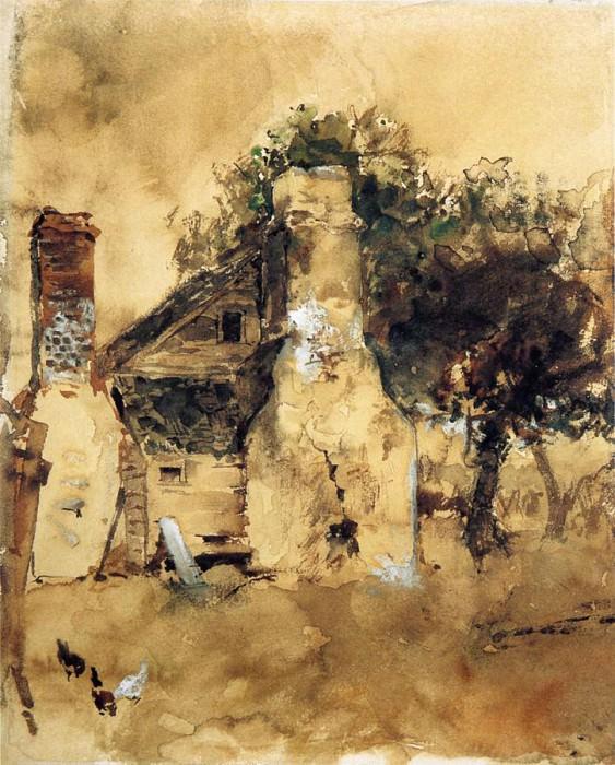 Блюм, Роберт Фредерик - Старый дымоход. Американские художники