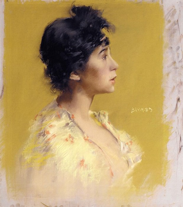 Blum Robert Frederick Flora de Stephano The Artist-s Model. American artists
