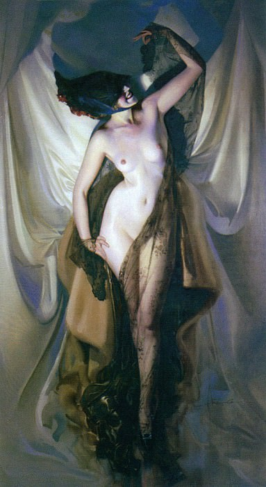 Armstrong Rolf Paris Nude 1919 1921. American artists