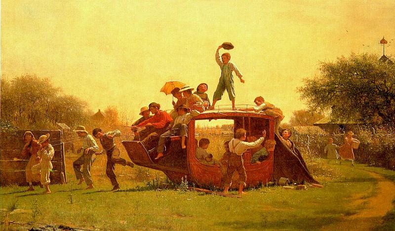Johnson, Jonathan Eastman (American, 1824-1906). American artists