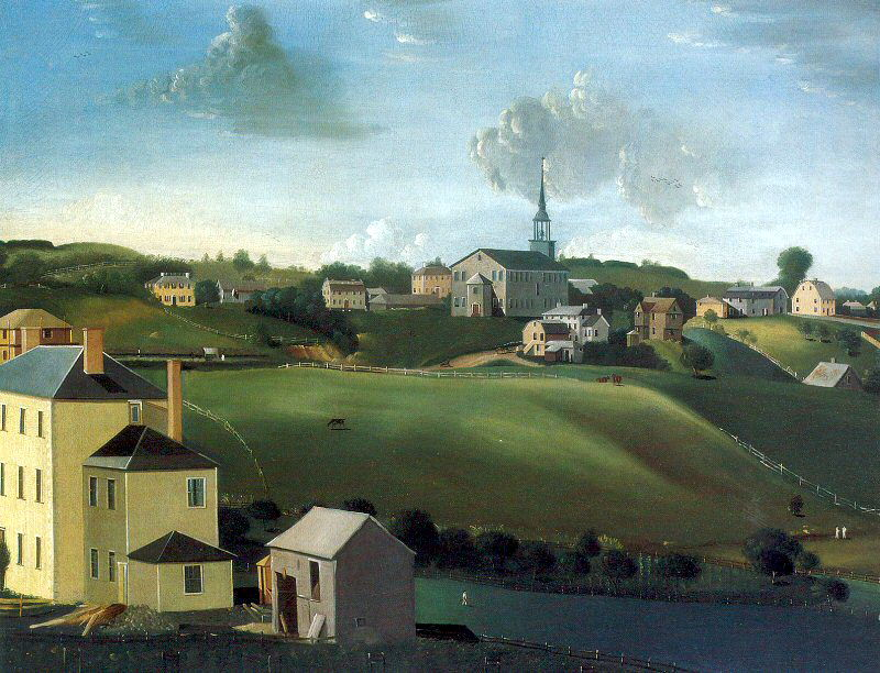 Penniman, John Ritto (American, 1782-1841). American artists