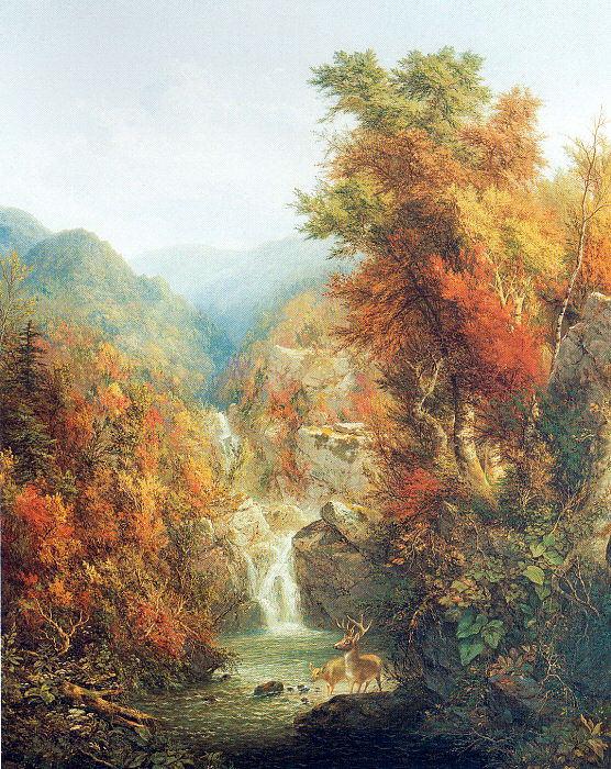 Martin, Homer Dodge (American, 1836-1887) 1. American artists