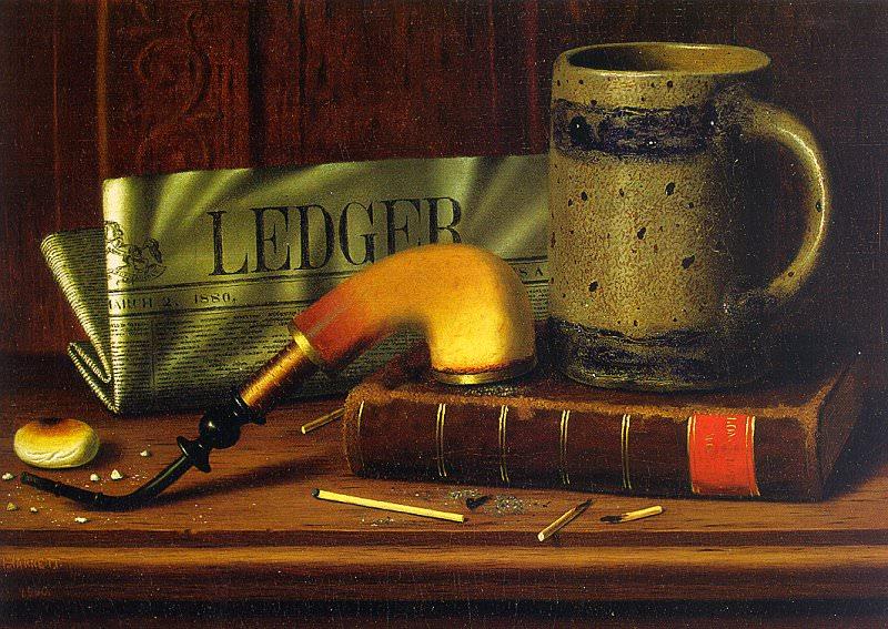 Харнетт, Вильям Майкл (1851-92) #2. Американские художники