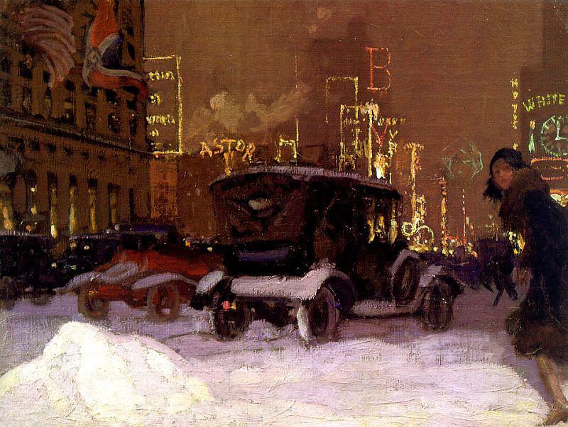 Hoffbauer, Charles (American, 1875-1957). American artists