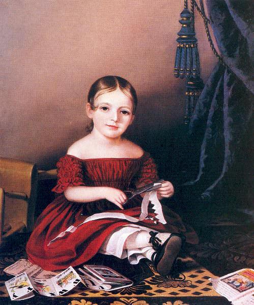 Peale, Sarah Miriam (American, 1800-85) 1. American artists