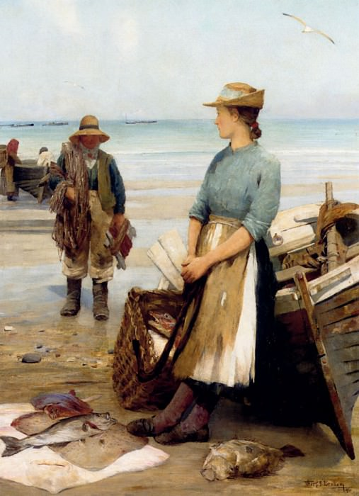 Benham Thomas C S The Days Catch. American artists