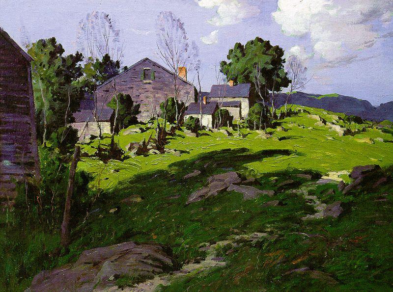 Bruestle, George M. (American, 1872-1939) 2. American artists