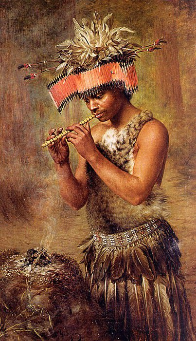 The Seed Conjurer. American artists