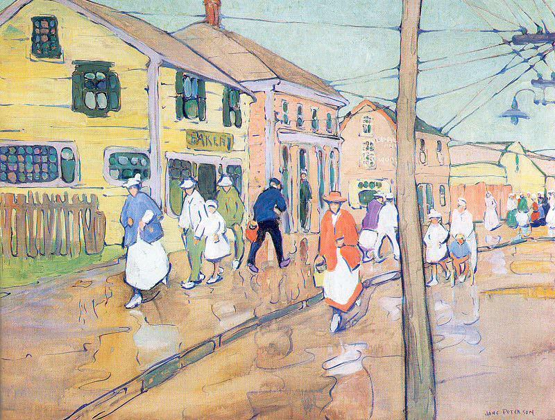 Питерсон, Джейн (1875-1965). Американские художники