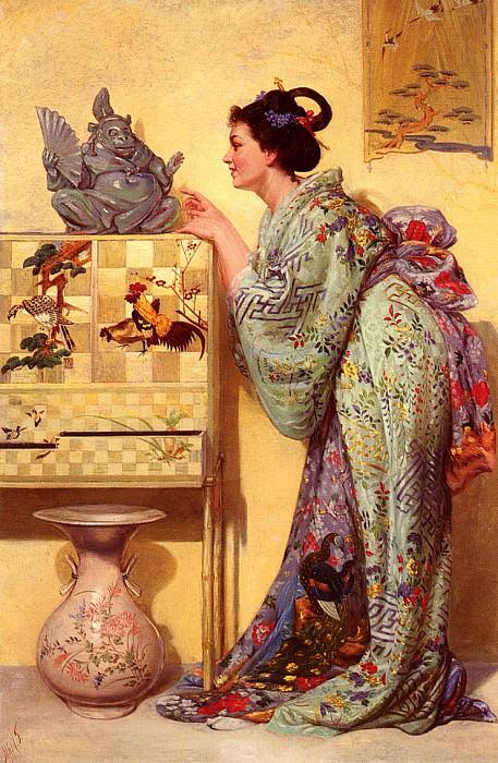 Thompson Alfred La Japonaise. American artists