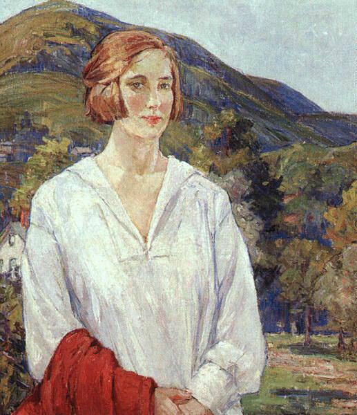 Ричмонд, Эгнис Миллен (1870-1964). Американские художники