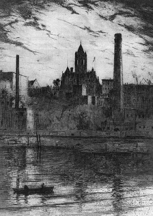 Реслер, Джордж Эрл (американец, 1882-1954). Американские художники