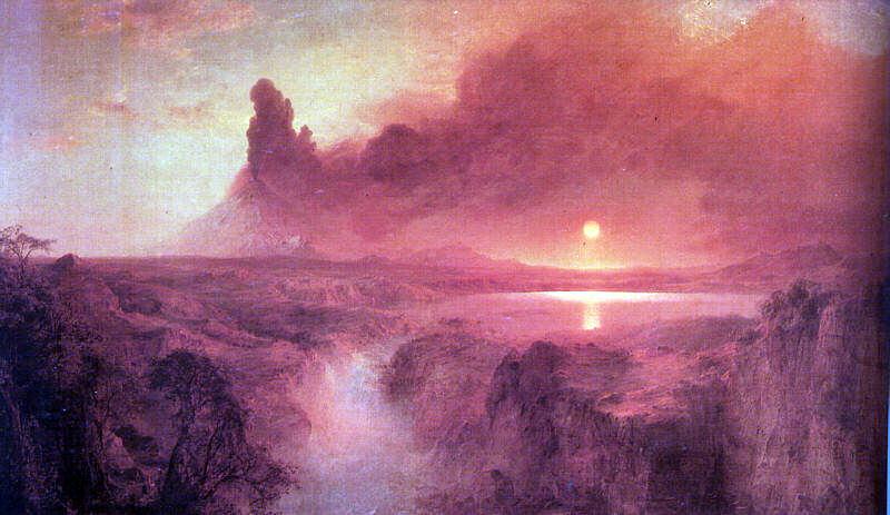 Church, Frederic Edwin (American, 1826-1900). American artists