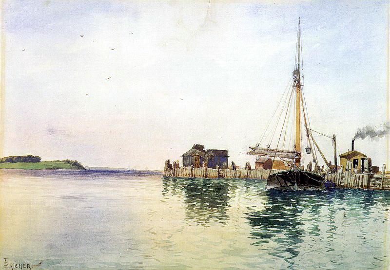 Bricher, Alfred Thompson (American, 1837-1908). American artists