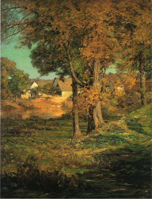 Adams John Ottis Thornberry-s Pasture Brooklyn Indiana. American artists