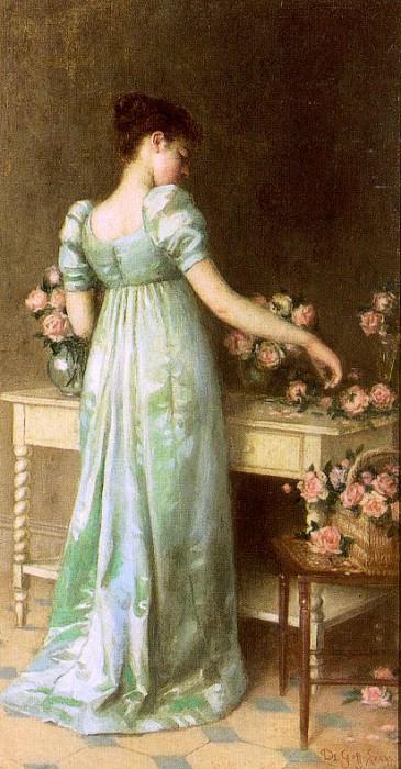 Evans, De Scott (American, 1847-1898). American artists