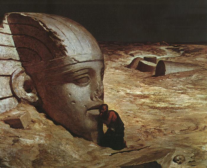 Vedder, Elihu (American, 1836-1923) 1. American artists