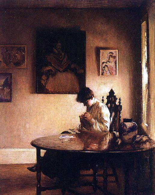 Tarbell, Edmund C. (American, 1862-1938) 1. American artists