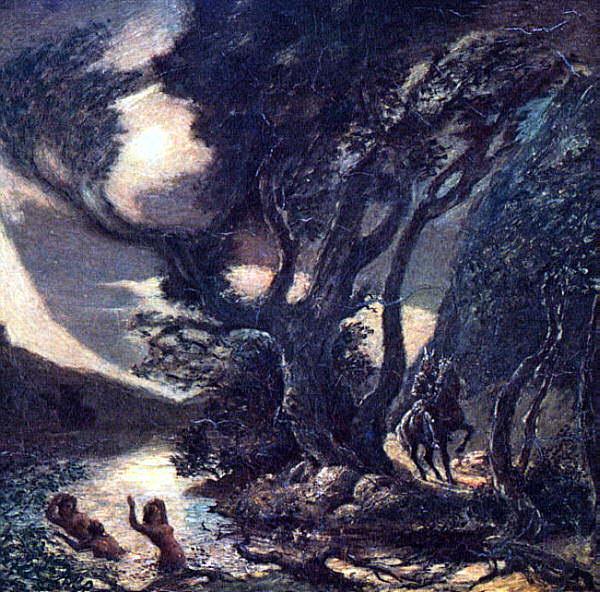 Ryder, Albert Pinkham (American, 1847-1917) 1. American artists
