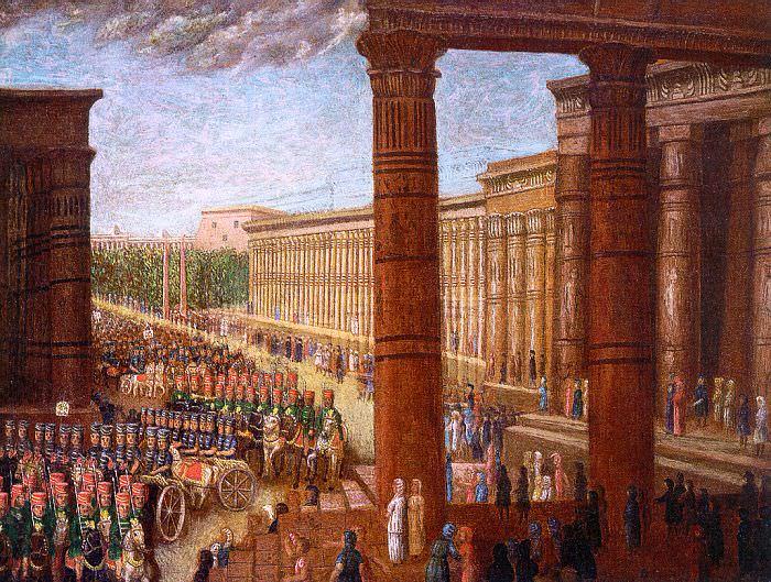 Филд, Эрастус Солсбери (американец, 1805-1900). Американские художники