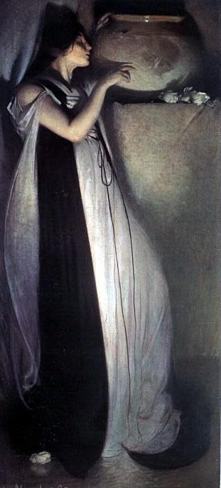 Александер, Джон Уайт (1865-1915). Американские художники