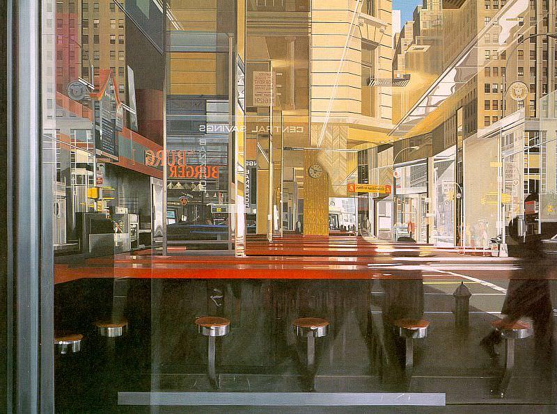 Estes, Richard (American, born 1937). American artists