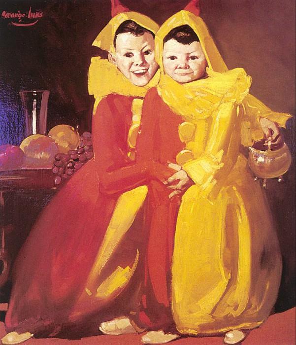 Luks, George (American, 1867-1933). American artists