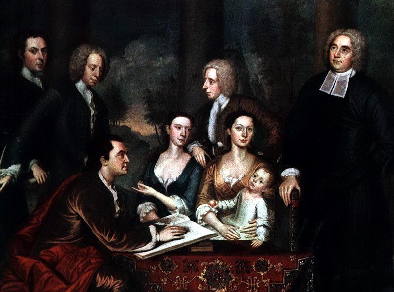 Smibert, John (American, 1688-1751). American artists