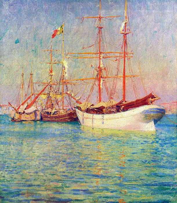 Palmer, Walter Launt (American, 1854-1932) 2. American artists