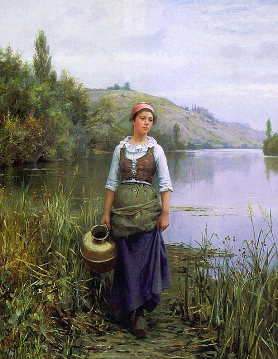 Knight, Daniel Ridgway (American, 1839-1924). American artists