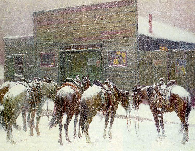 Berninghaus, Oscar Edmund (American, 1874-1952) 1. American artists