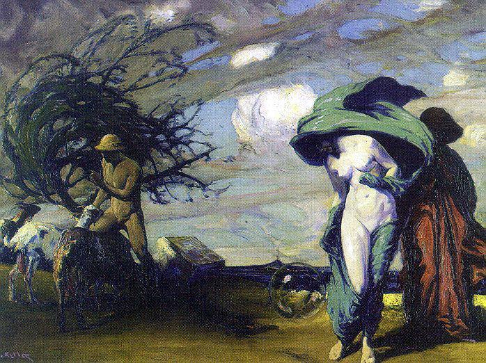 Keller, Henry (American, 1870-1949). American artists