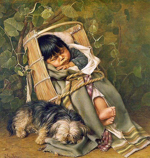 Хадсон, Грейс Карпентер (американка, 1865-1937). Американские художники