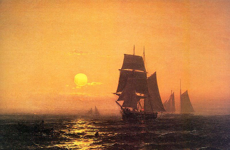 Haas, Mauritz F. H. de (Dutch, practiced in America, 1832-1895). American artists
