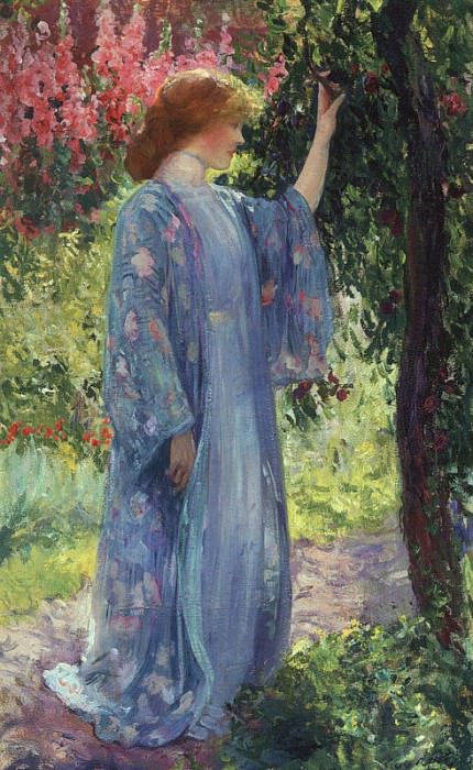 Guy Rose #2. American artists