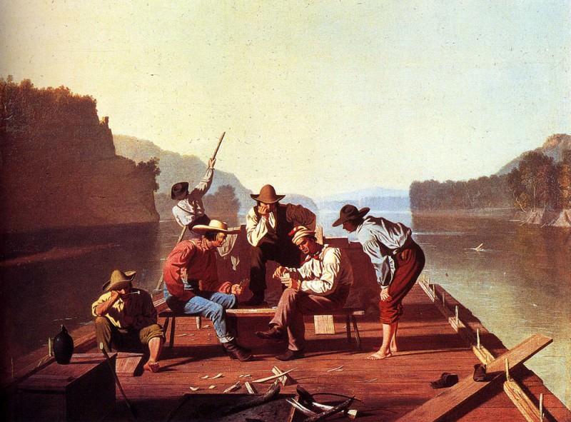 Bingham George Caleb Ferryman Playing Cards. American artists