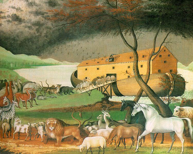 Хикс, Эдуард (американец, 1780-1849). Американские художники