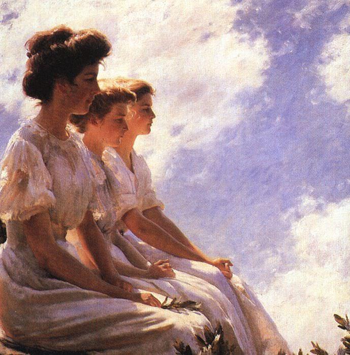 Каррен, Чарльз Кортни (1861-1942). Американские художники