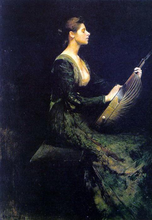 Дьюинг, Томас Вилмер (1851-1938). Американские художники