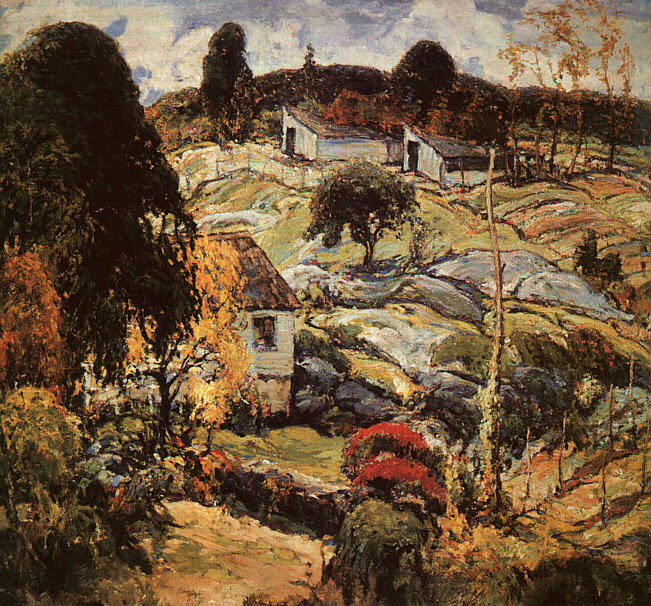 Reiffel, Charles (American, 1862-1942) 1. American artists