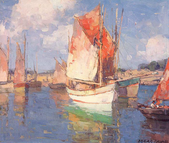 Payne, Edgar Alwin (American, 1882-1947) 1. American artists
