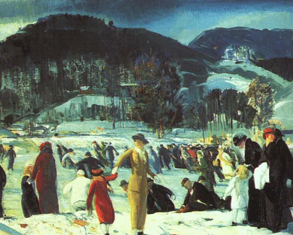 Беллоуз, Джордж (1882-1925). Американские художники