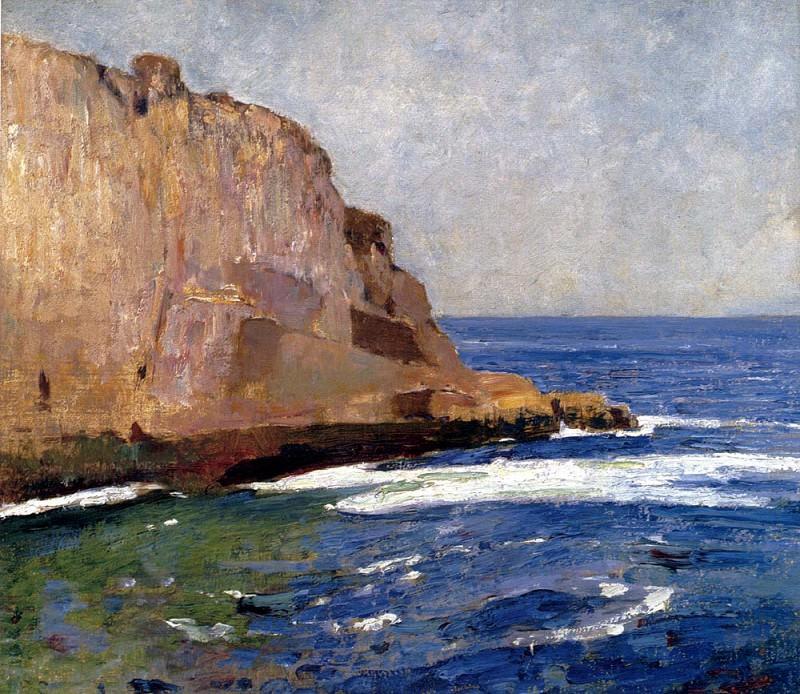 Carlsen Emil Bald Head Cliff York Maine. American artists
