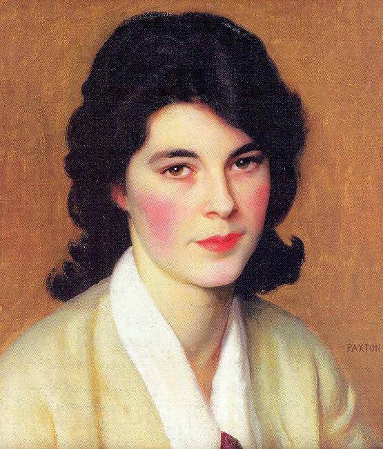 Paxton, William McGregor (American, 1869-1941) 3. American artists