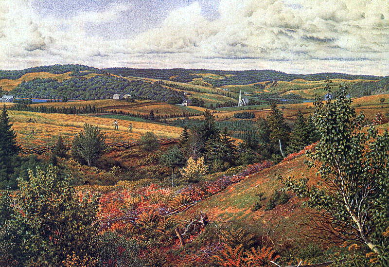 Richards, William Trost (American, 1833-1905) 1. American artists