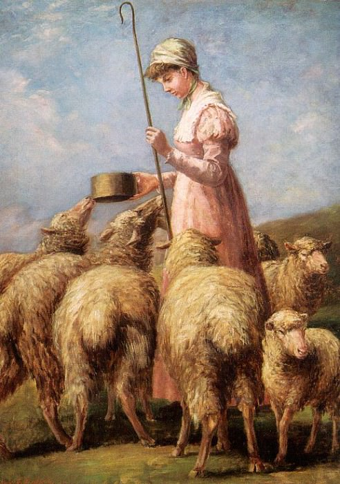 Freeland, Anna Chamberlain (American, 1837-1911). American artists