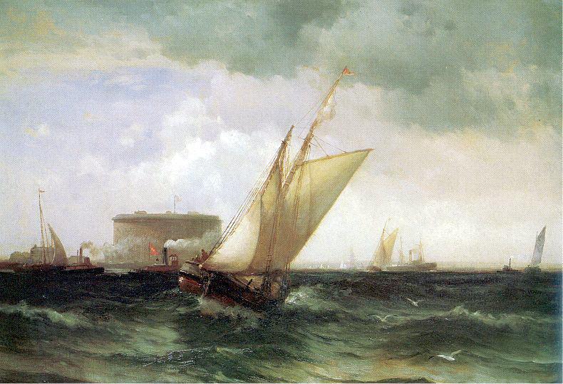 Moran, Edward (American, 1829-1901) 2. American artists